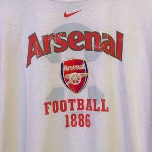 Nike Shirts - Arsenal Soccer Club long sleeve T-shirt